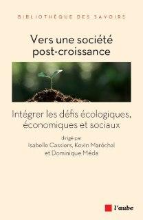 Livre d'isabelle Cassiers Vers une sociéte post-croissance