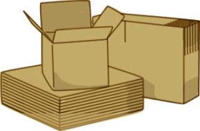 Caisses biodégradables en carton